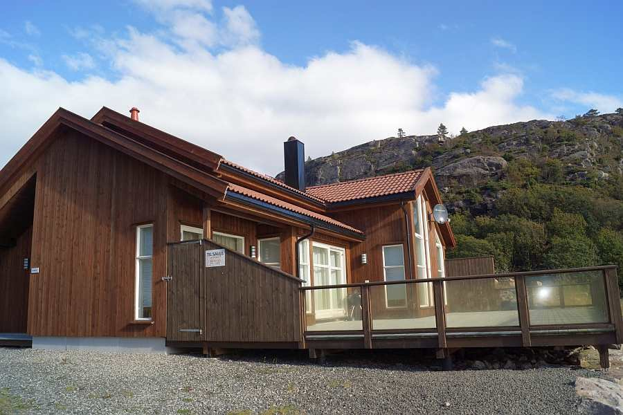 Ferienhaus Ramsland auf der Halbinsel Lindesnes - guter Komfort erwartet den Gast