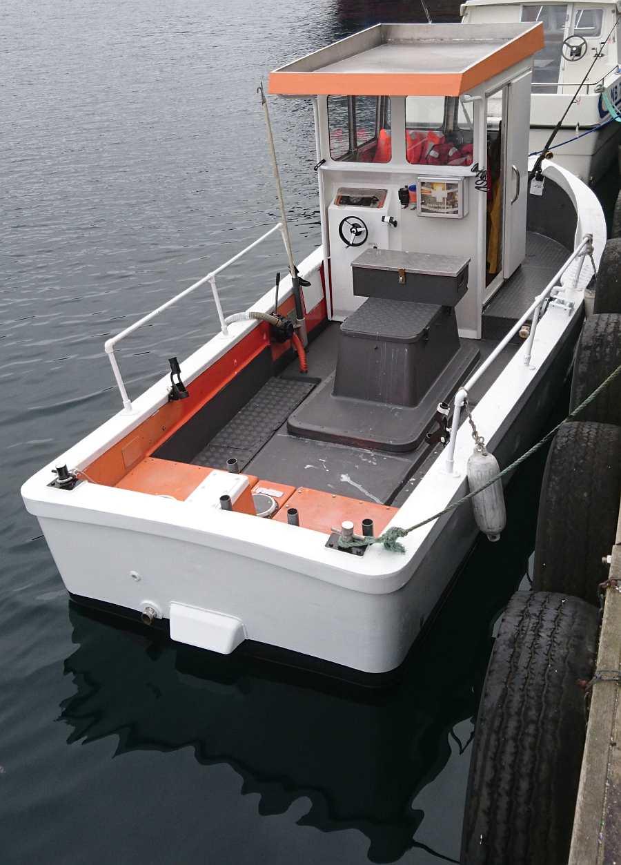 Viel Platz zum Fischen auf dem Dieselboot My Best Dream