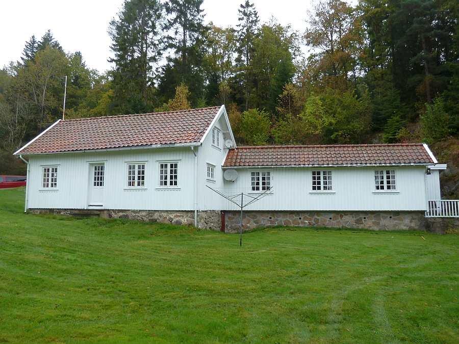 Im Ferienhaus Salthaug stehen 6 Schlafzimmer zur Verfügung bis zu 12 Personen finden hier Platz
