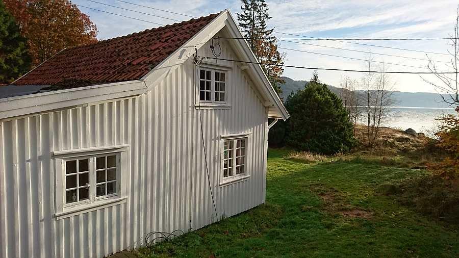 Ferienhaus Salthaug liegt direkt am Rosfjord