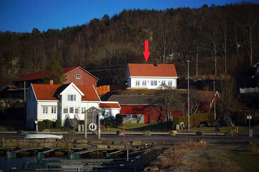 Ferienhaus Svennevik - neu erbaut in 2016 - ein modernes Ferienhaus mit viel Platz für bis zu 6 Personen