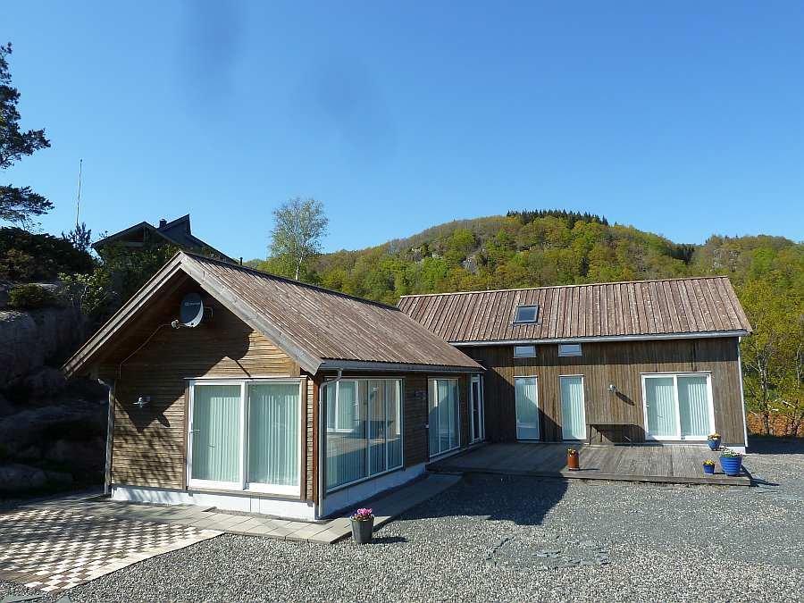 Ferienhaus Torill bietet ausreichend Platz für bis zu 9 Erwachsene + 1 Baby