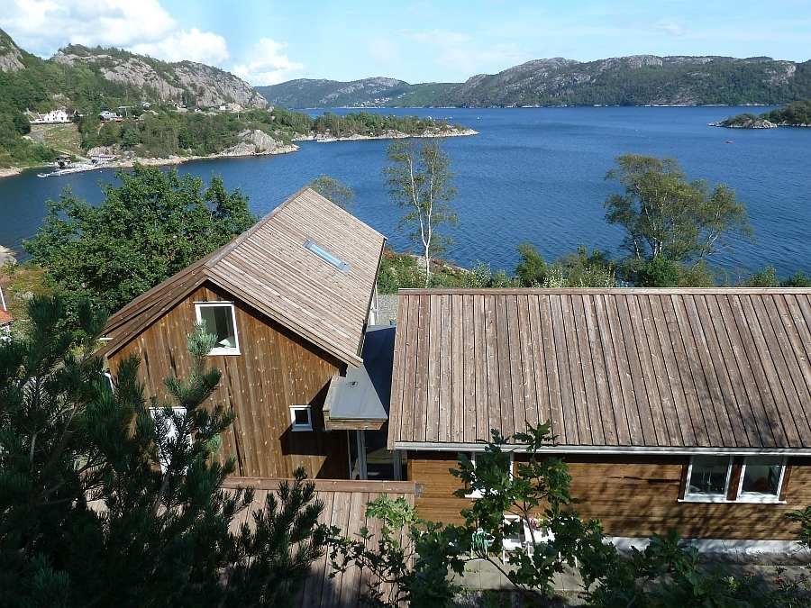 Die perfekte Lage eines Ferienhauses in Norwegen