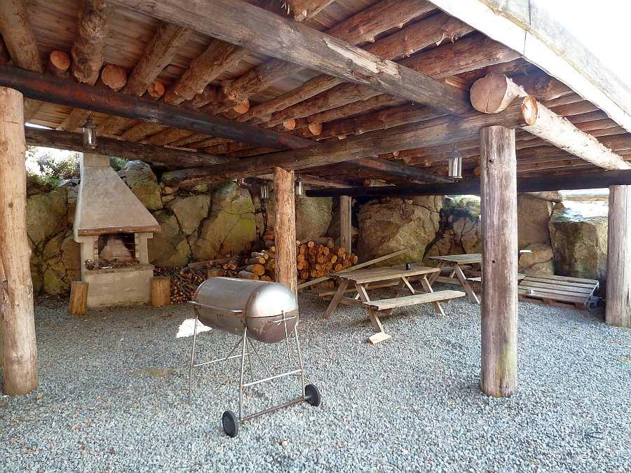 Im Bootshafen können Sie den dortigen Grill und Feuerplatz nutzen