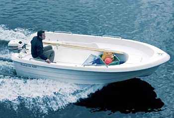 Das Boot 16 Fuß/10 PS, 4-Takter, Echolot