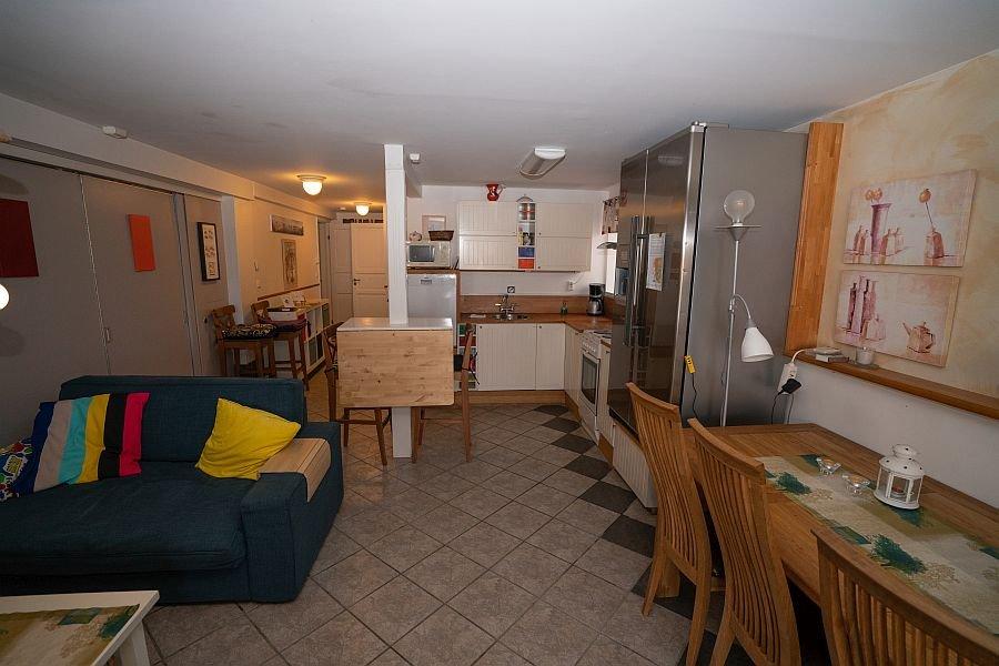 Wohn und Essbereich und die Küche Typ 1