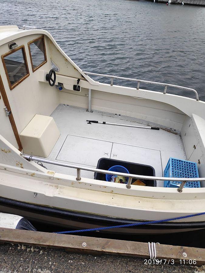 Dieselboot 22 Fuß / 30 PS