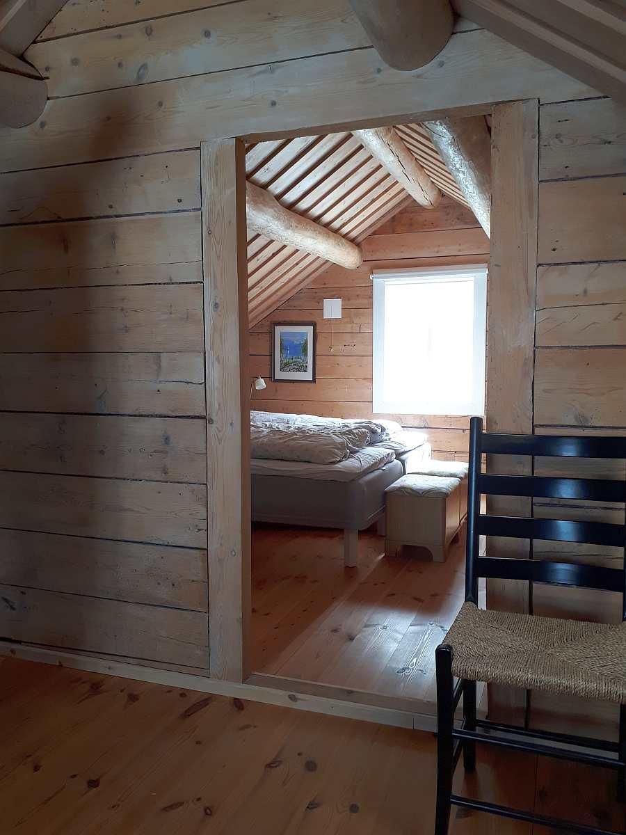 Das 3. Schlafzimmer  liegt im Obergeschoß