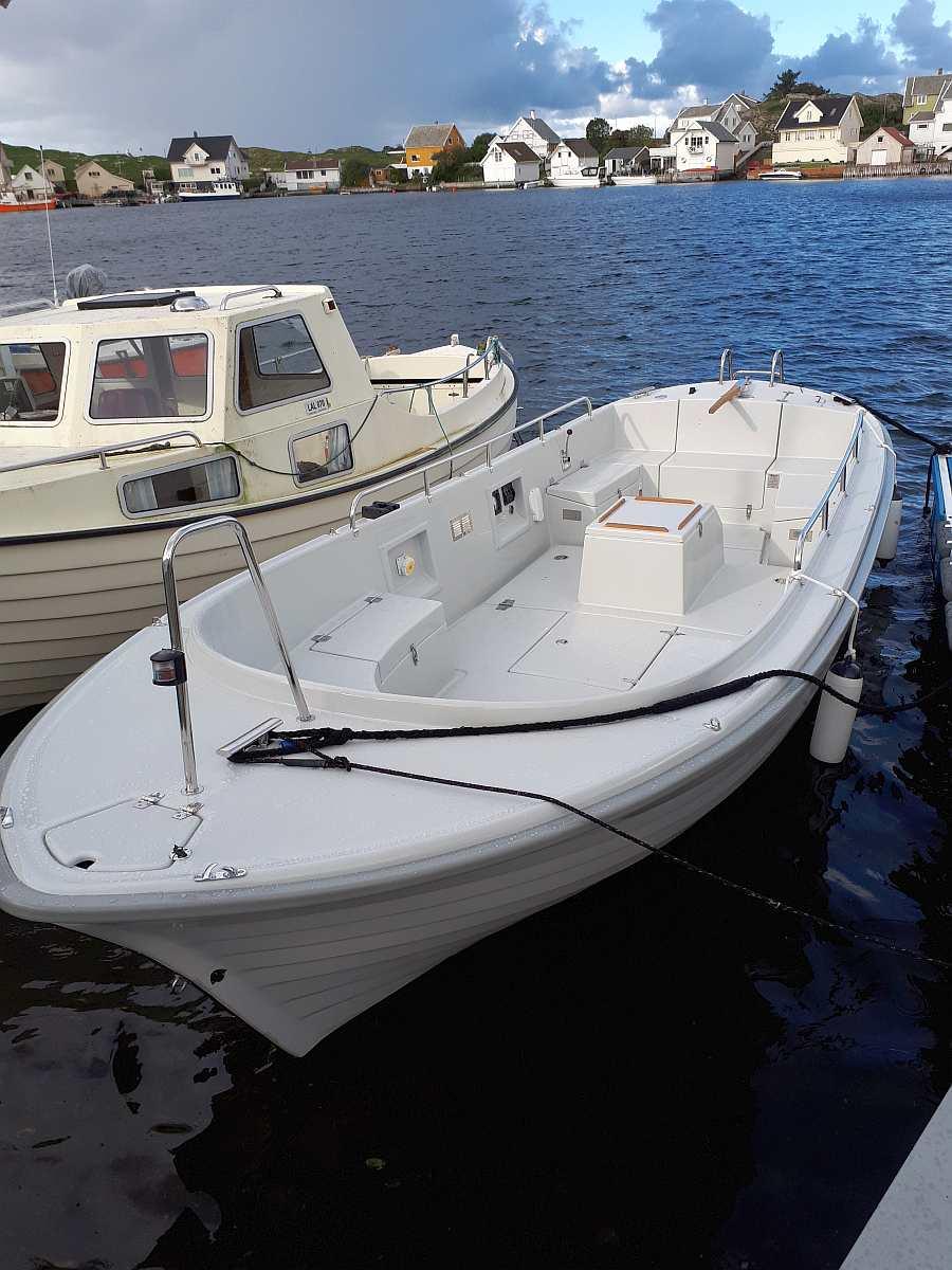 Auf dem Skager Dieselboot haben Sie viel Platz