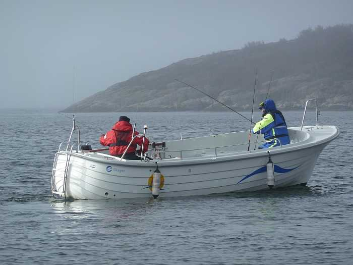 Das perfekte Angelboot - Dieselboot Skager 22 Fuß/ 28 PS, E-Starter, Echolot und GPS/Kartenplotter. - ist bereits im Hauspreis enthalten