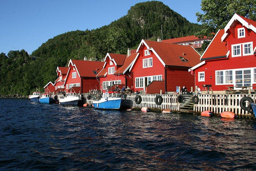 Willkommen in der Ferienanlage Solvåg!