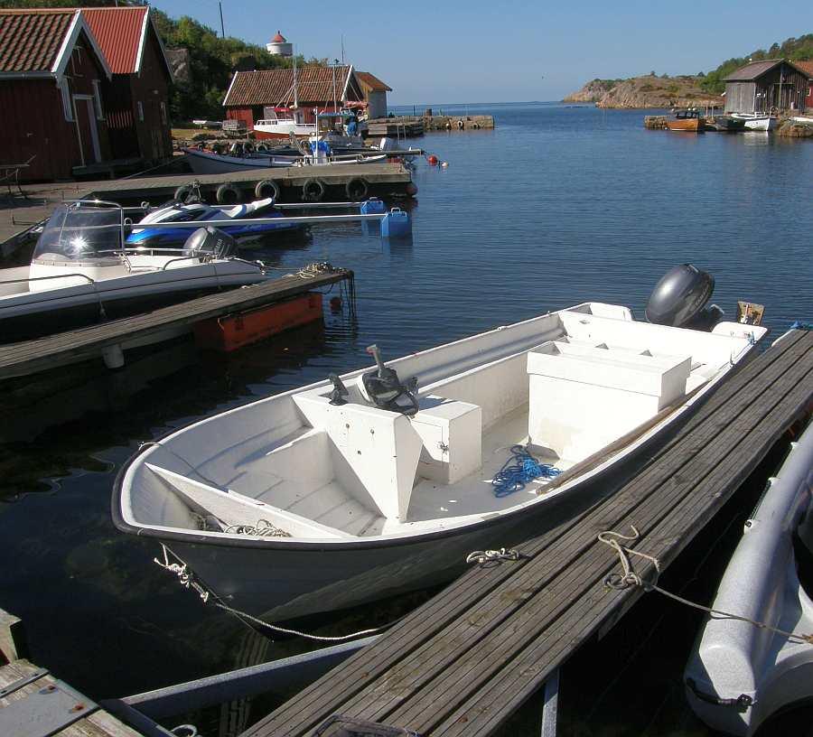 Das  buchbare Angelboot  >Hansvik<  18 Fuß/40 PS, 4-Takter, e-Starter, Steuerstand, Echolot