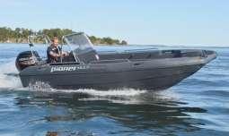 Das schnelle Pioneer Angelboot - 17 Fuß/50 PS, 4-Takter, E-Starter, Steuerstand, Echolot, GPS/Kartenplotter