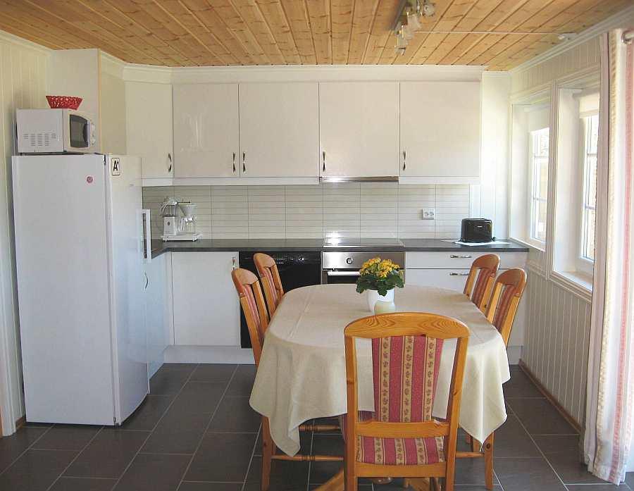 Die moderne Küche im Ferienhaus 5