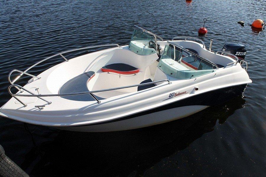 Angelboot 16 Fuß/60 PS, 4-Takter mit Echolot, GPS/Kartenplotter
