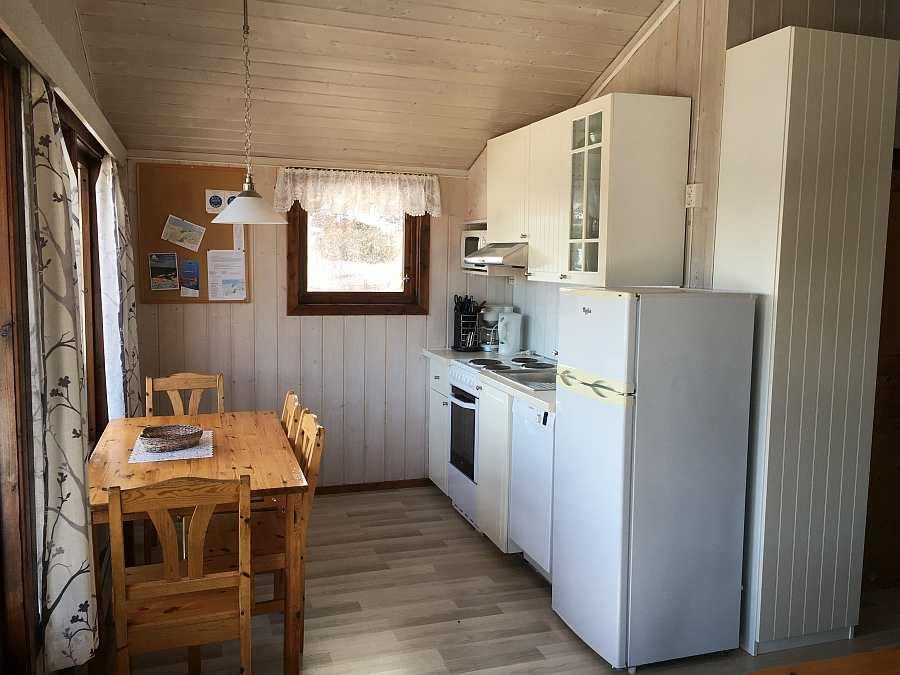 Offene Studioküche im Ferienhaus Typ B