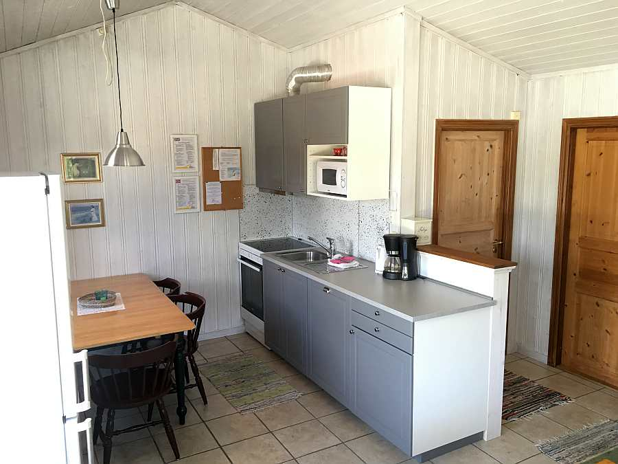Offene Studioküche im Ferienhaus Typ C