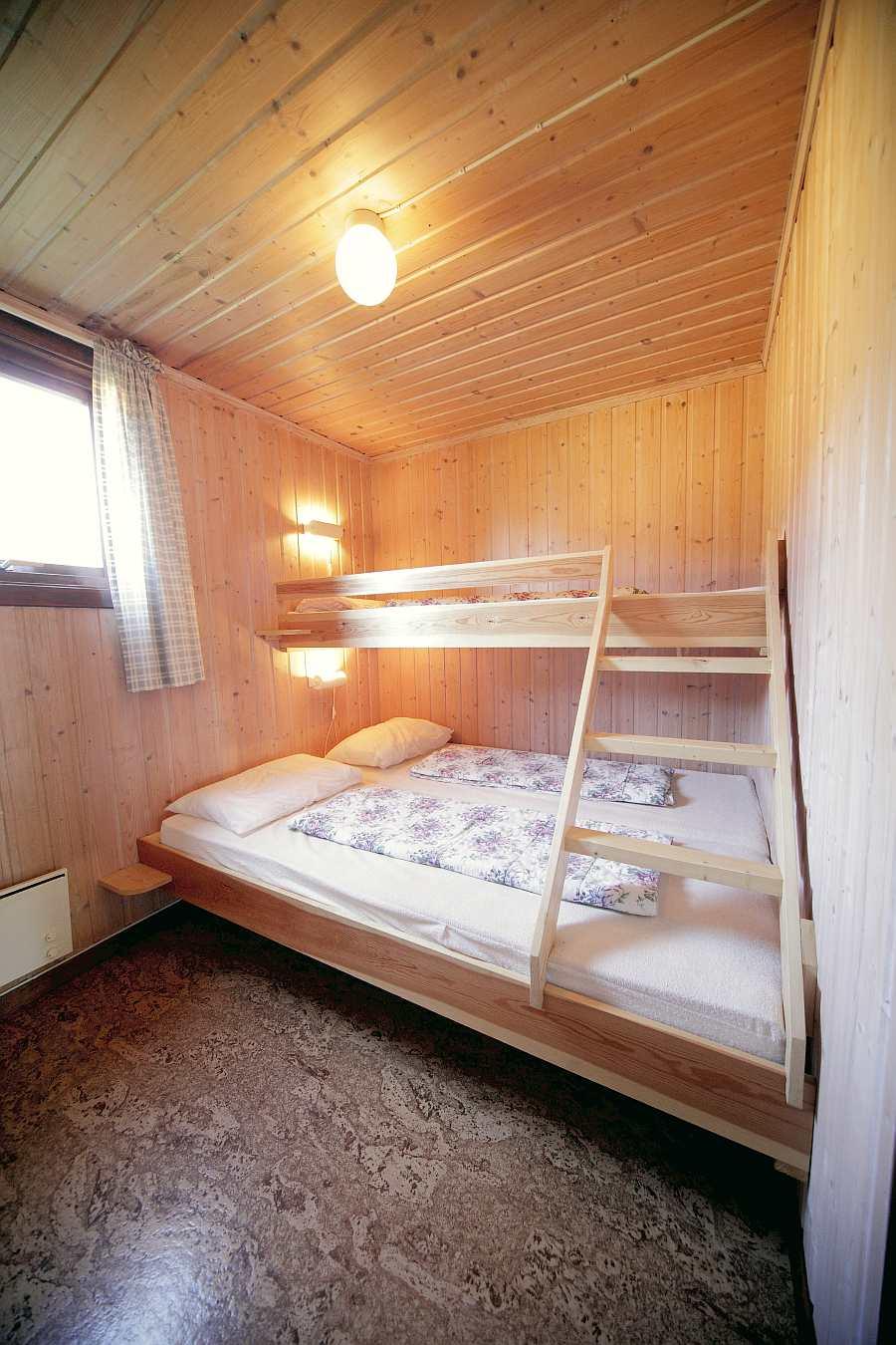 Schlafzimmer im Ferienhaus Typ B