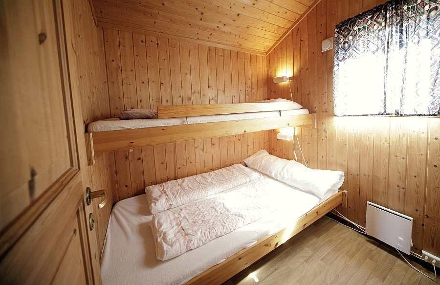 Schlafzimmer in Ferienhaus Typ C