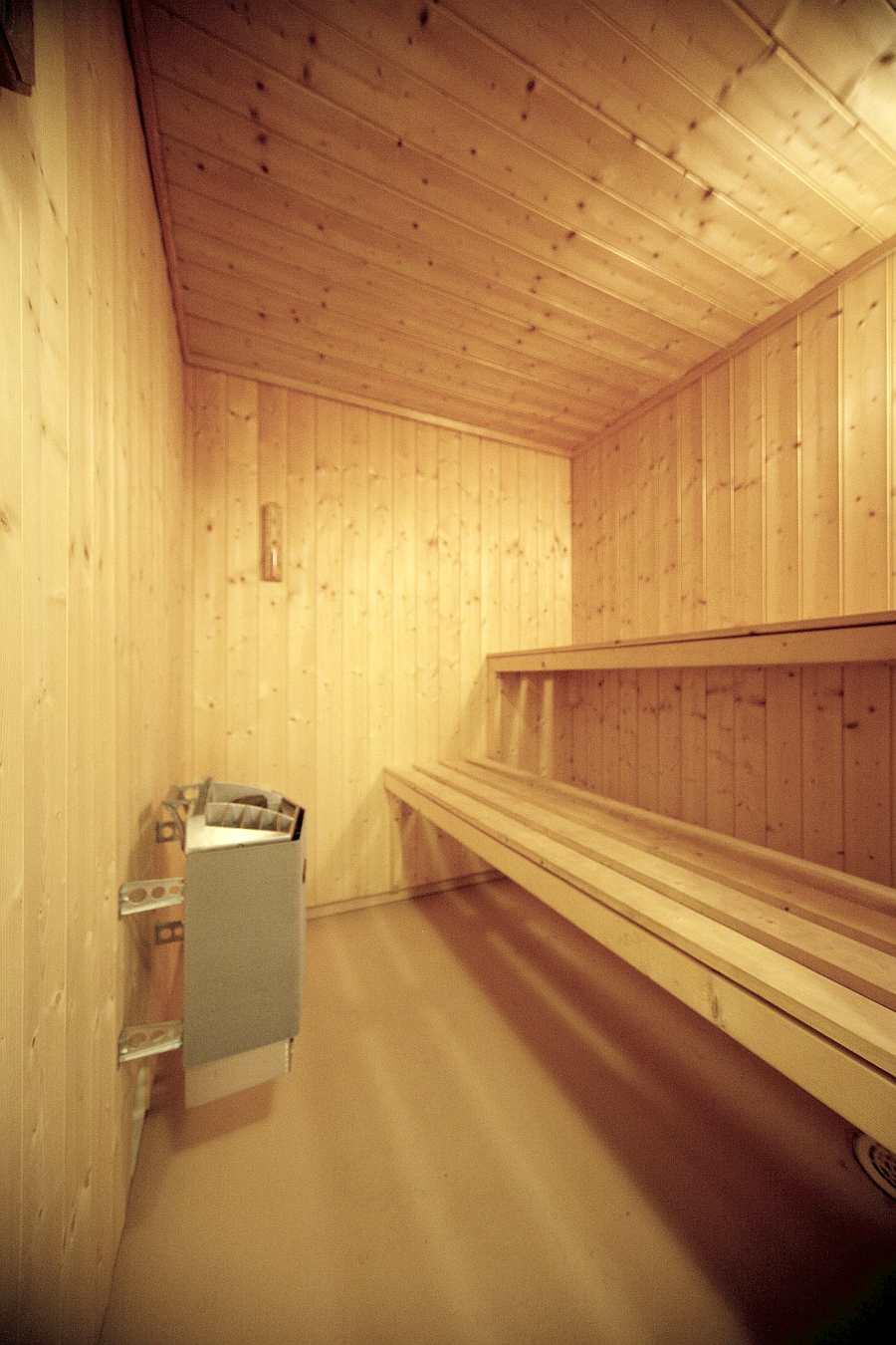 Die Sauna im Haus Fjordstua