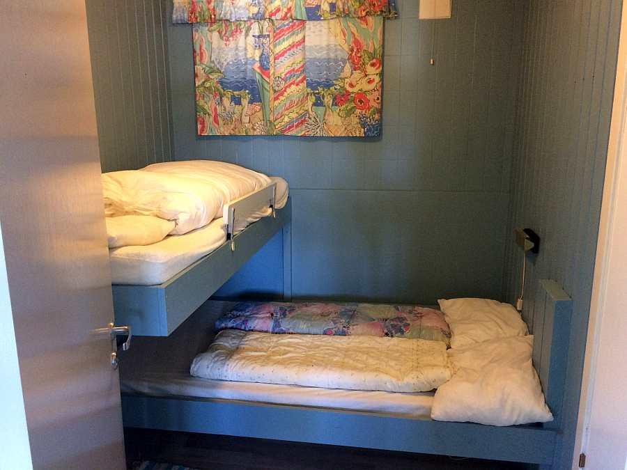 Schlafzimmer in der Ferienwohnung Typ E