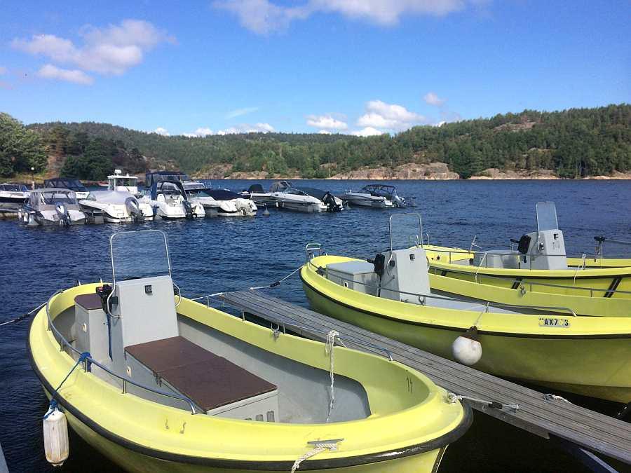 Boote 21 Fuß, 15 PS, 4-Takter