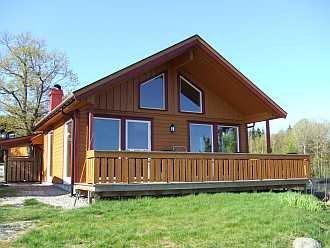 Ferienhaus Fjordstua bietet Komfort und viel Platz