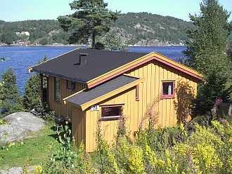 Ferienhaus Typ B bzw. Typ C - mit Blick auf den Fjord