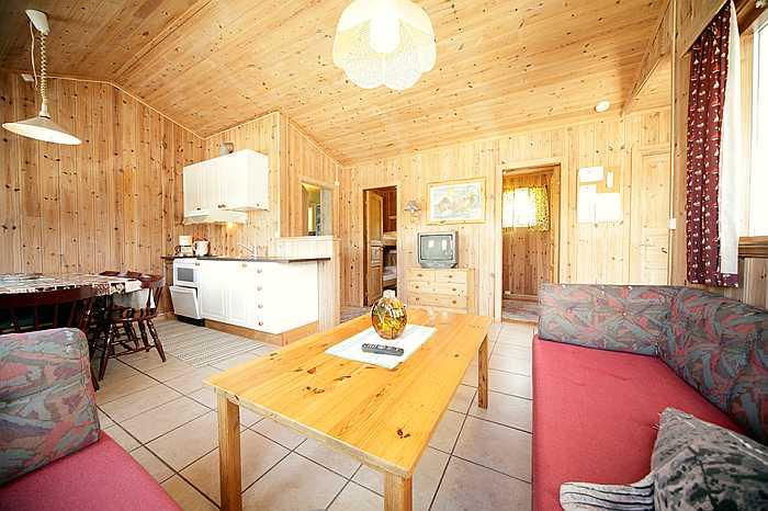 Wohnbereich Ferienhaus Typ A