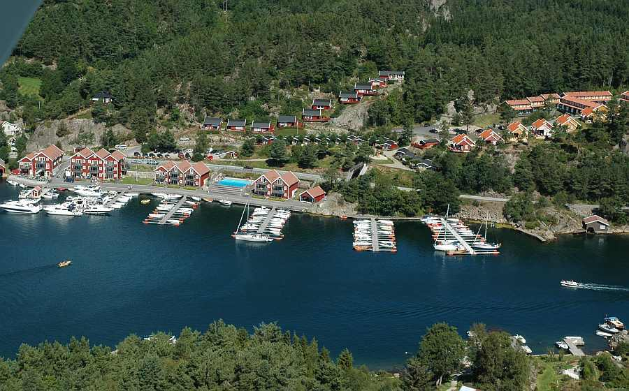 Tregde Ferie liegt nur ca. 40 km vom Fähranleger in Kristiansand entfernt
