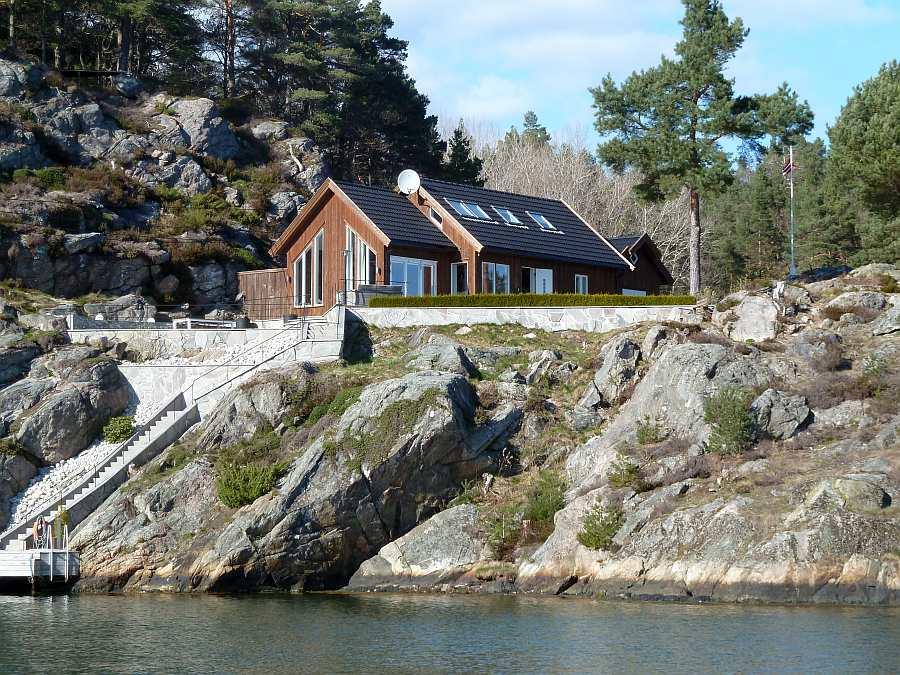 Ferienhaus Vige - ein Traumhaus in Traumlage direkt  Wasser