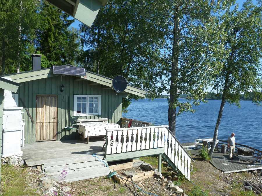 Ferienhaus Hovlund - direkte Lage am See Einafjorden