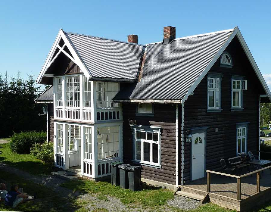 Das Ferienhaus Kapteins Hus ist ein idealer Ausgangspunkt für Angeltouren auf dem See Mjøsa