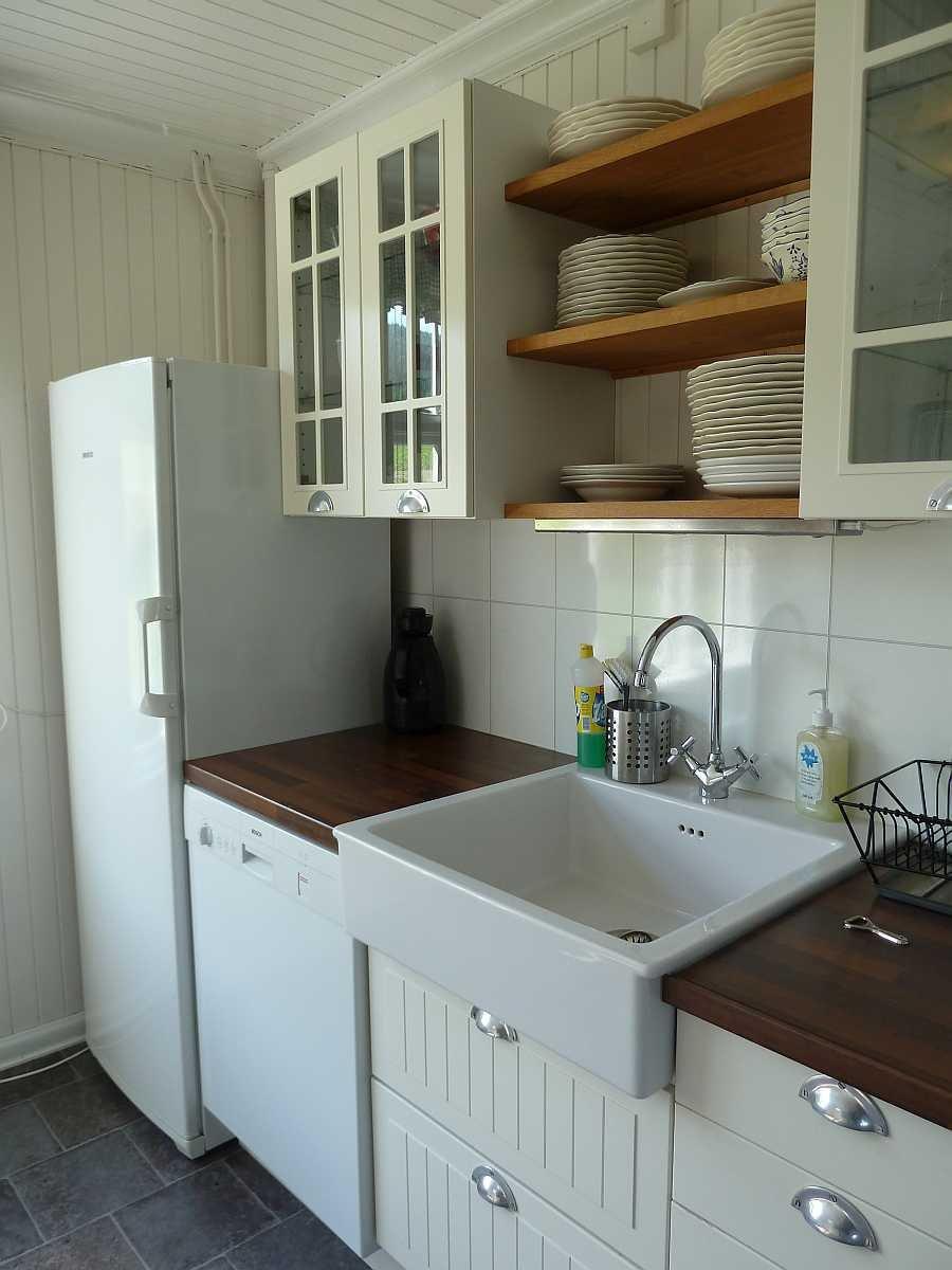 Die Küche wurde komplett neu renoviert