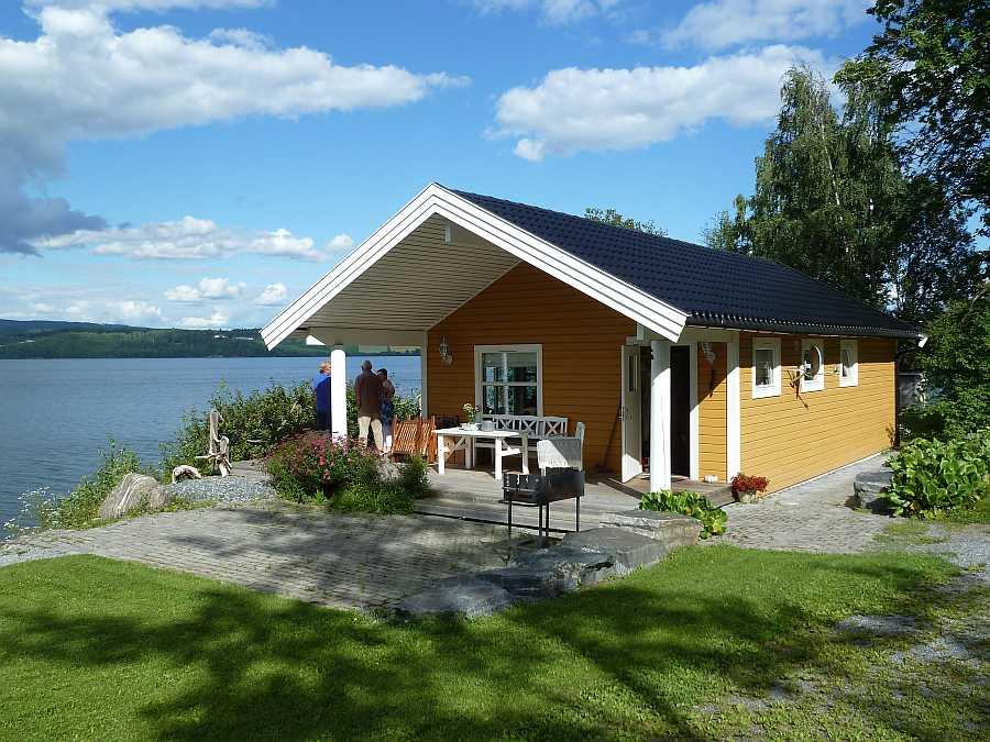 Haus Mjøsro am Ufer des Sees Mjøsa