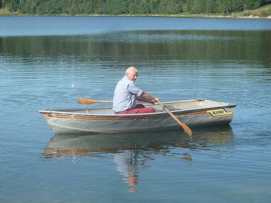 Das Alu-Ruderboot