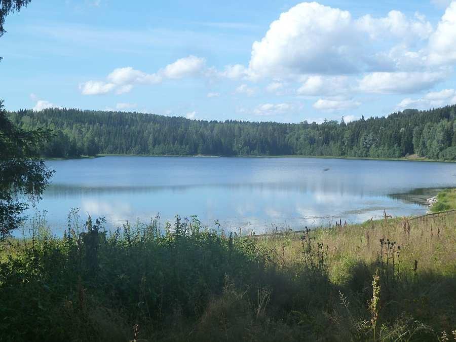 Der See Kauserudtjernet - klein, aber sehr fein!!
