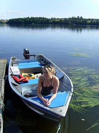 Angelboot 14 Fuß/ 6 PS -4-Takter - bereits im Hauspreis enthalten!