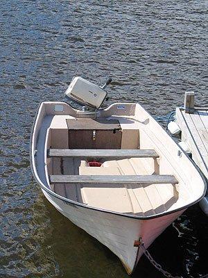 Angelboot 14 Fuß mit 15 PS, 4-Takter - im Preis schon enthalten