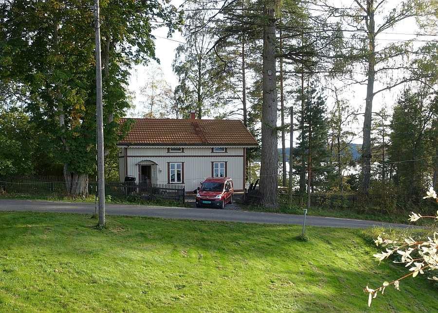 Das Ferienhaus Havestua liegt auf einem eigenen Naturgrundstück
