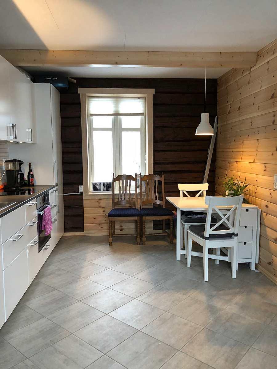 Die Wohnküche des Ferienhauses