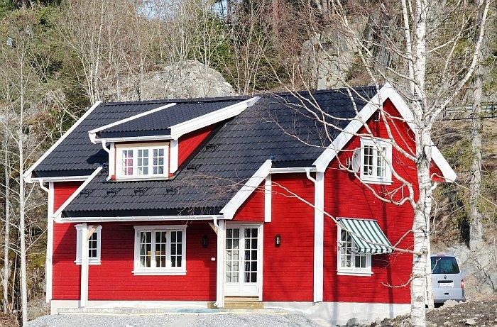 Ferienhaus Kroken - neu erbaut in 2010. Der gute Komfort wird Sie überzeugen
