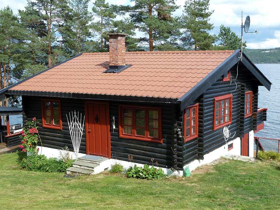 Das Ferienhaus Lysholmen bietet Platz für bis zu 8 Persomen