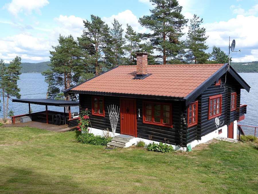 Ferienhaus Lysholmen liegt einfach genial!