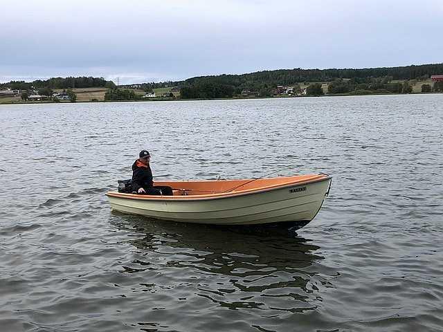 Das Boot -Askeladden- ist ein bewährtes Angelboot und liegt stabil im Wasser