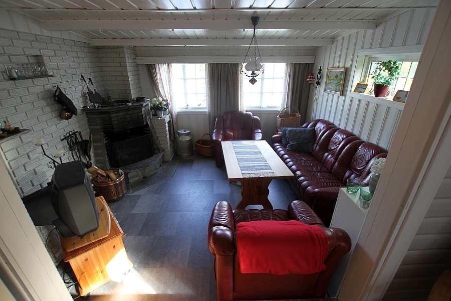 Blick in den Bereich mit der Sitzecke