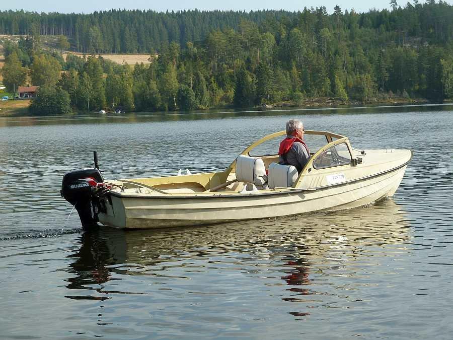 Ein komfortables Angelboot für 3 (-4) Angler