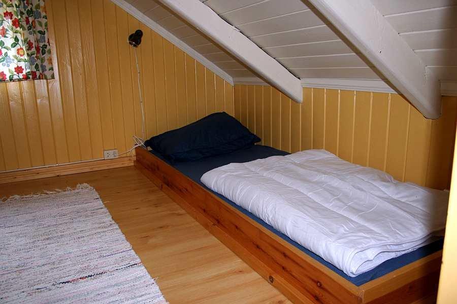 Eines der beiden Einzelbetten im Hems