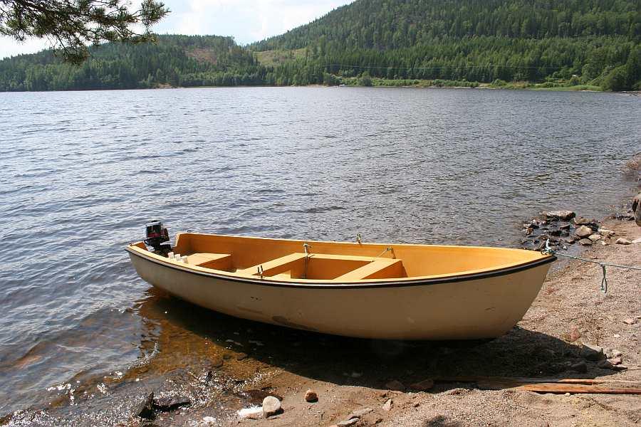 Optional zusätzlich buchbar - Angelboot 14 Fuß/ 6 PS, 4-Takter