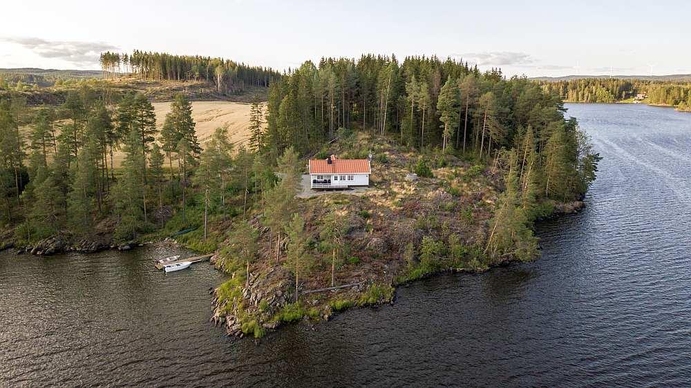 Ferienhaus Aarnes ist ein Garant für einen gelungen Urlaub am See in Norwegen